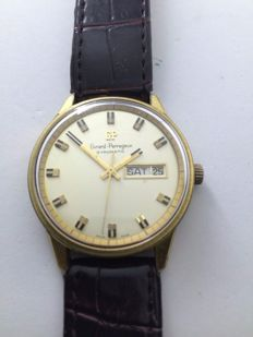 Girard-Perregaux Gyromatic Date, men's wristwatch Year: 1973
