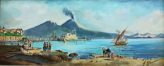 Unknown artist (20th century) - Marina di Napoli