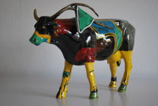 CowParade - Merry Calderoni - type 'Salvador Cowli' - Large and retired