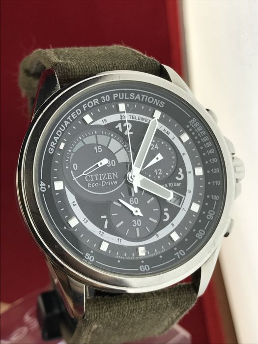 Citizen Eco-Drive chronograph