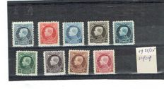 Belgium 1910/1950 - Selection with 22 series
