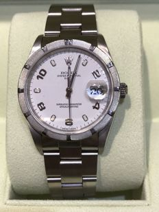Rolex Oyster Perpetual Date from 1990. Reference 15210