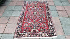 Very Beautiful Hand-knotted Persian - Hamadan 130cm x 192cm  With Certificate ! No reserve Price! Act fast!