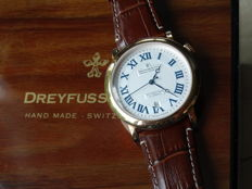 Dreyfuss & Co. - Series 1925 Rose Gold Plated - DGS00151/01 - Mænd