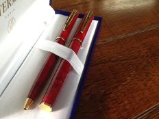 Waterman Apostrophe fountain pen and ball pen set, unused!