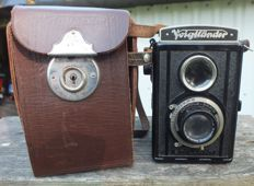 Old TLR camera VOIGTLÄNDER BRILLANT from 1939