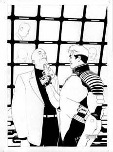 De Angelis, Roberto - original cover for Nathan Never no. 178