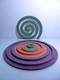Mauro De Nittis for Fir Design Milano – Spiral Sculpture Set and Puzzle