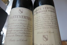 1985 Montevertine Le Pergole Torte x 1 bottle -  1987 Montevertine Le Pergola Torte Reserva x 1 bottle / 2 bottles in total .