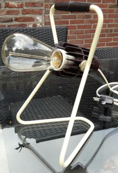 """Original industrial design lamp, """"Philips"""" , Lamp is fully dimmable"""