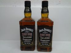 2 Bottles  Jack Daniel's Red Dog Saloon 125th anniversary - Limited Edition -