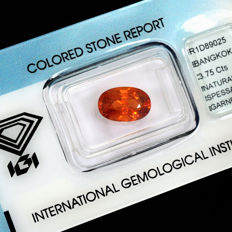 Spessartite garnet – 3.75 ct