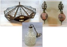 Collection of Mediterranean lamps