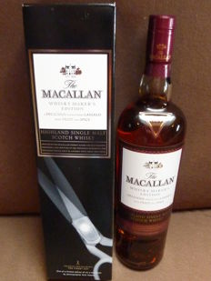 Macallan Whisky Maker's Limited Edition X-Ray Boxes - The Macallan's Pillar No 3 Natural colour