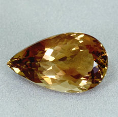 Champagner Topas - 21.08 ct