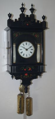 Black Forest Bismark clock -1850 period