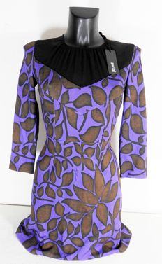 Just Cavalli – beautiful and warm designer dress, autumn, new with labels KOF@