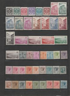 Monaco 1910/1964 - Collection with air post, precancelled, and tax