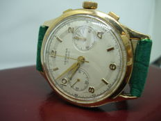 Verbena Chronographe 38 mm. Yellow gold, men's, 1950s