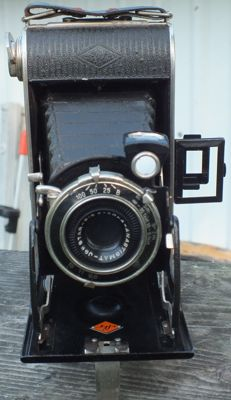 Old camera AGFA Billy RECORD from 1936