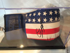 Sugar Ray Leonard hand signed boxing glove world champion RARE