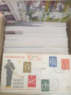 The Netherlands 1957/2004 - Collection of FDCs