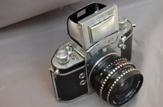 EXA type 4 with special LYDITH 3.5/30 lens.