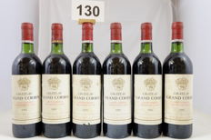 1981 Chateau Grand Corbin, Saint-Emilion Grand Cru Classe, France, 6 Bottles.