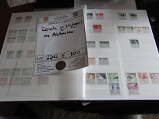 German Reich 1933/1945 - Collection in stock album, largely complete.