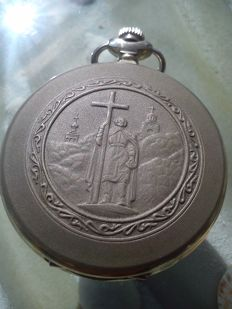 MOLNIJA -CHURCH Russian men's pocket watch