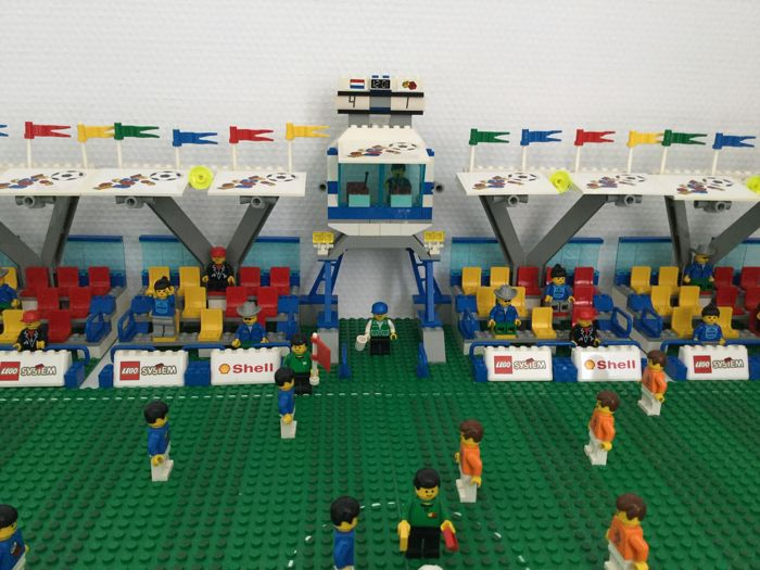 LEGO World Cup Football Stadium - Shell 1998, complete - Catawiki