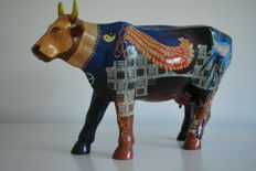 Cow Parade - Rebecca Miller - type  K.C. Sacred Cow - EXTRA LARGE - RETIRED en ZELDZAAM !