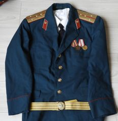 Gala uniform of a Russian officer