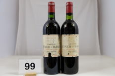 1979 & 1981 Chateau Lynch-Bages, Pauillac, Cinquieme Grand Cru Classe, France - 2 Bottles.