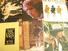 Great Lot with 6 Albums, 1 Box 3LP's of: Bob Dylan & The Band (3LP of the Last Waltz) & Related