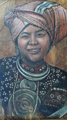 Song Tham - mid-20th century - Portret in Sumatra