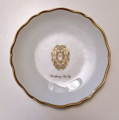 "Fabergé - saucer Imperial Collection ""The Alexander Palace Egg"""