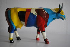 CowParade - Nathanial To'mas Blanchard - type Kowdinski - Large & retired