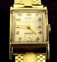 ELGIN Watch Company ca.1950 14 kt gold-plated