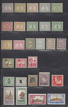 Dutch East Indies 1912/1926 - Selection - NVPH 99/114, 135/137, 138/141, 167/170, 181