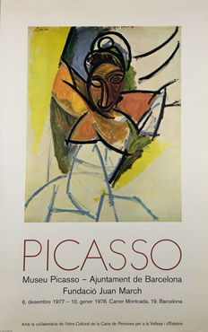 Picasso - 4 pósters Museo Picasso Barcelona - 1977-82