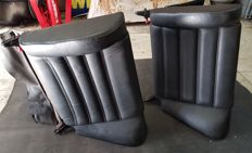 Porsche 911 series G rear seats