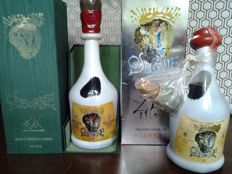 Brandy Osborne Dalí special edition - Bottled 1970s and another edition of the same bottle - total 2 bottles