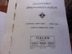 Italy, Republic, 1945/1985 – Advanced collection in new sheets, in a Faro album.