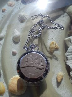 MIG-31 MOLNIJA Russian USSR men's pocket watch