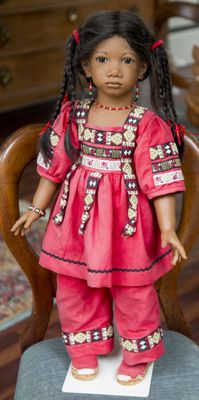 Panchita, doll of Annette Himstedt