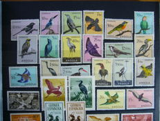 Birds - themed collection in two  stockbooks