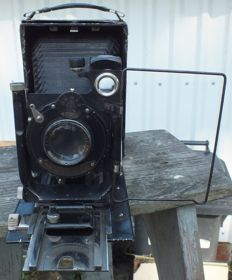 Old plate camera GOMZ FOTOKOR 1 from 1929