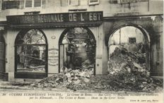 MILITARY France period:around WW I 1-148X-ravages of various places in France-1914/1920