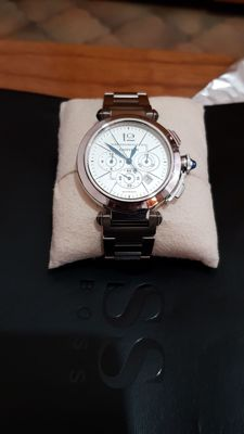 Cartier Pasha Chrono 42 Reference: W31085M7 - Men's wristwatch from 2013
